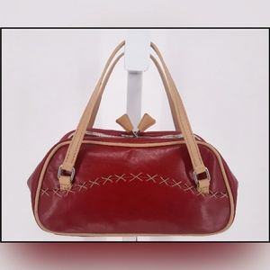 M. London Leather Mini Bag